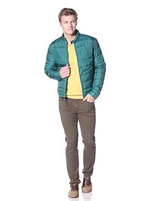 Vince Men's Nylon Puffer Jacket (clover)