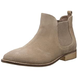 Carlton London Women's Falton Beige Leather Boots - 4 UK (CLL-2821)