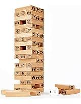 Hape - Toppling Wood Jenga Blocks (Amazon Exclusive)