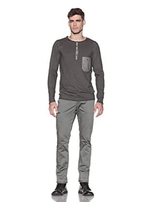 Comune Men's Ford Henley (Dark Olive)