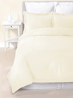 Kumi Basics by Kumi Kookoon Silk Duvet Cover Set (Crème)