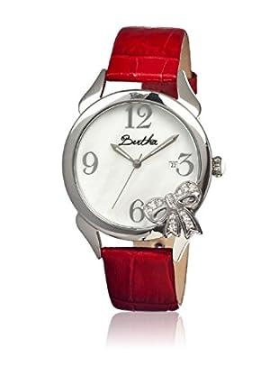 Bertha Uhr mit Japanischem Quarzuhrwerk Bow rot 41 mm