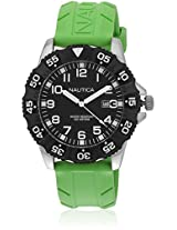 Green Analog Watch