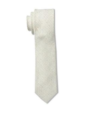 Gitman Men's Herringbone Tie, Grey