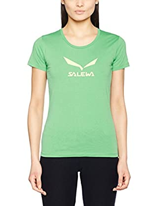 Salewa Camiseta Manga Corta Solidlogo Co W S