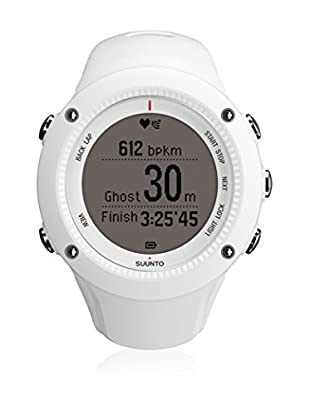 Suunto Orologio Cardiofrequenzimetro Con Fascia Gps Ambit2 R Hr SS020658000 Bianco