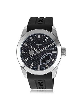 Haurex Men's 3A501UNN Magister Black Silicone Watch