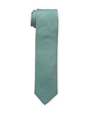 Bruno Piattelli Men's Woven Tie, Green