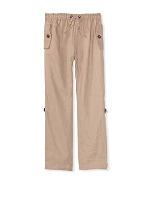 Tom and Drew Boy's Roll-Up Pants (Sandy Cabana)