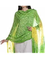 Famacart Women's Cotton Bandhej Dupatta Party wear wrap