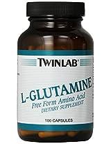 L-Glutamine 500 mg by Twinlab 100 Tablets