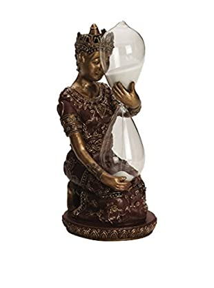 Bombay Company Buddha Hourglass Holder, Bronze