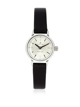 Hamilton Women's 8309 Dark Brown Leather Watch