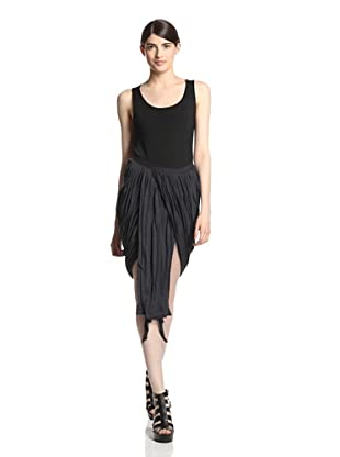 Rick Owens Lilies Women's Panel Skirt (Anthracite)