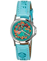 Disney Analog Multi-Color Dial Children's Watch - 3K0906U-LK (BLUE)