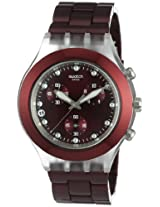 Swatch Chronograph Red Dial Men's Watch - SVCK4054AG