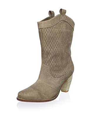 J. Shoes Women's Corral Fab Boot (Stone Grey)
