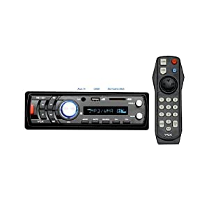 Vox - 1201 - LCD Car Stereo With FM / MP3 / USB / SD Card Support & Aux Input