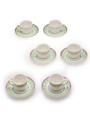 Tognana 6 Tazze Caffè Perla Riviera