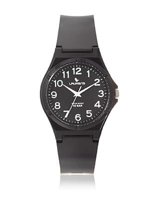 Laurens VQ88J901Y Black Rubber Water Resistant Watch