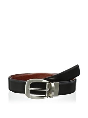 J.Campbell Los Angeles Men's Reversible Strap Belt (Black/brown)