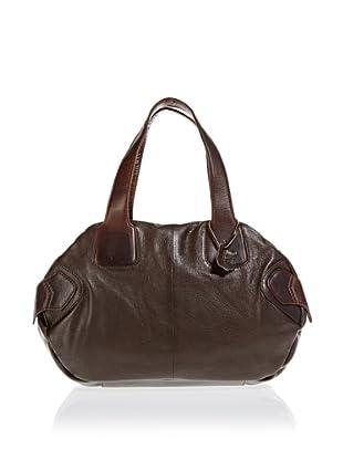 Borella Leder Bowling-Bag (Dunkelbraun)