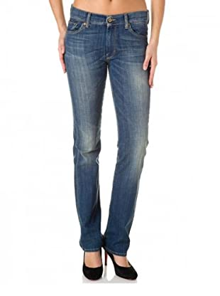 7 for all Mankind Jeans HW Jaguar Sky Straight Leg (Hellblau)