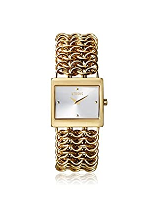 Versus by Versace Women's 3C65300000 Chain Gold/Silver Stainless Steel Watch