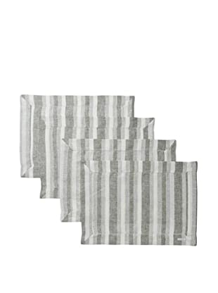 Sferra Set of 4 Ascot Placemats (Forest)