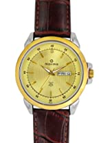 Maxima Analog Gold Dial Men's Watch - 26340LMGT