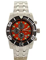 Sartego Men's SPC55 Ocean Master Stainless Steel Chronograph Watch