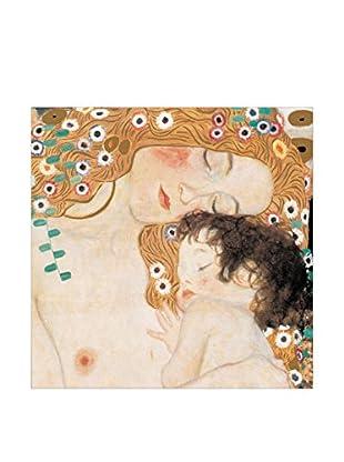 Artopweb Panel de Madera Le Tre Età Della Vita