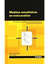 Modelos Estadisticos En Meta-Analisis