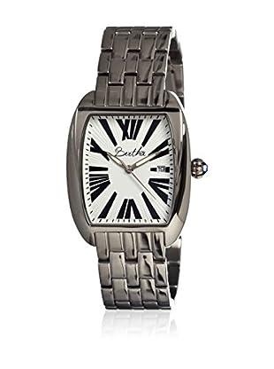Bertha Uhr mit Japanischem Quarzuhrwerk Anastasia silberfarben 41 mm