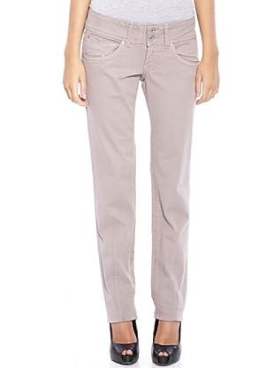 Pepe Jeans London Pantalón Brooke (Beige)