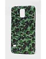 Fonokase Case for Samsung Galaxy S5 S 5 Army Series Hard Back + Screen Guard