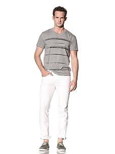 Cohesive & Co. Men's Line V Tee (Light Grey)