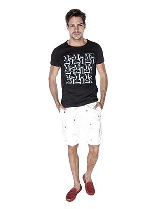 Giorgio Di Mare Camiseta Lamberto (Negro)