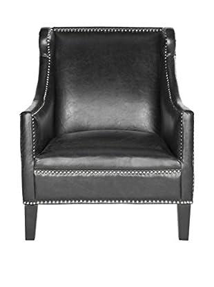 Safavieh Mckinley Club Chair, Antique Black