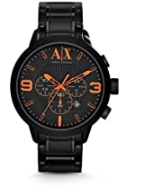 Armani Exchange Black Ion Chronograph Mens Watch Ax1351
