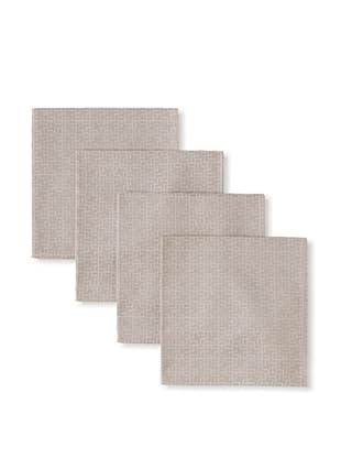Garnier-Thiebaut Set of 4 Puzzle Napkins (Beige)