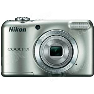 Nikon Coolpix L27 Digital Camera (Silver) AD