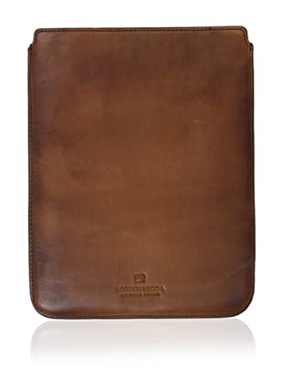 Scotch & Soda Men's Leather iPad Sleeve (Brown)