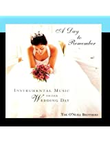 Day to Remember: Instrumental Music Wedding Day
