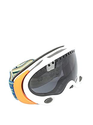 OAKLEY Skibrille A-Frame weiß/orange