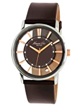 Kenneth Cole Analog Brown Dial Men's Watch - IKC1781