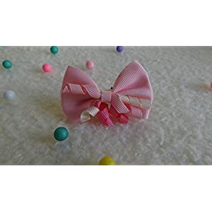 The Wonder Years Pink Hair Clip Bow