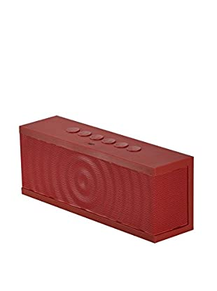 iPM Ultra-Portable Wireless Bluetooth 3.0 Speaker, Red