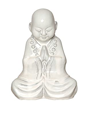 Emissary Young Praying Boy Figurine, White