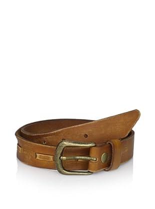Bed Stu Women's Sparrow Stich Belt (Tan)